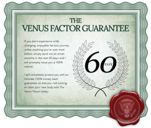 Venus Factor Guarantee